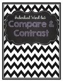 Compare and Contrast Word List