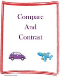 Compare and Contrast Worksheet Packet