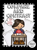 Compare and Contrast Writing Prompts - Rubric and Checklist included!