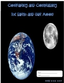 Earth and Moon - Compare and Contrast Writing and ELA Test Prep