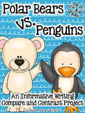 Compare and Contrast Writing ~ Polar Bears vs. Penguins!