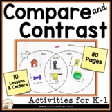 Comprehension Strategy Compare and Contrast