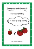 Compare and Contrast: step- by- step activities