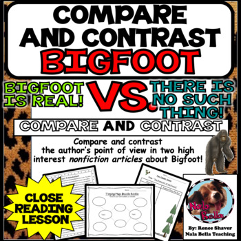 Compare and Contrast the Author's Point of View Close Read
