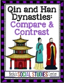 Compare and Contrast the Qin and Han Dynasties - A Fun Group Project