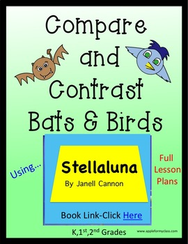 Stellaluna - Compare and Contrast - Lesson Plans - K, 1st & 2nd Grades
