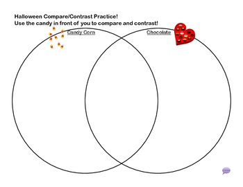 Compare and Contrast (venn diagram) Packet - Halloween Style!