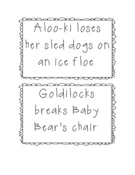 Compare and Contrast with Goldilocks/The Three Snow Bears