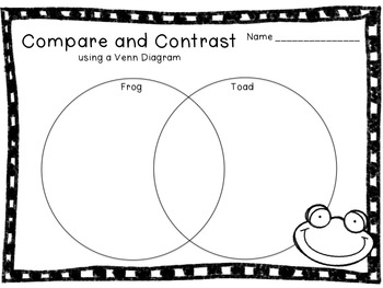 Compare and Contrast with Pictures and Characters: Flipchart and Worksheets