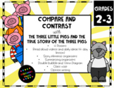 Compare and Contrast with The Three Little Pigs and The True Story 4 day lesson