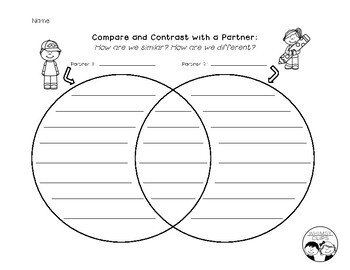 Compare and Contrast with a Partner Activity