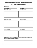 Compare and Contrasting Theme, Setting and Plot