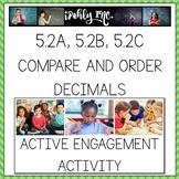Compare and Order Decimals 5th Grade Math TEKS 5.2A, 5.2B, 5.2C