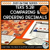 Compare and Order Decimals | TEKS Math Activities Math Practice