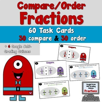 Compare and Order Fractions Distance Learning