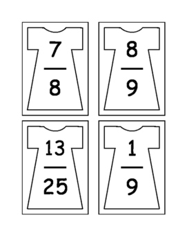 Compare and Order Fractions - Activities and Worksheets