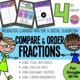 Compare and Order Fractions Interactive Math Google Slides