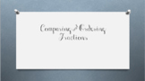 Compare and Order Fractions Powerpoint