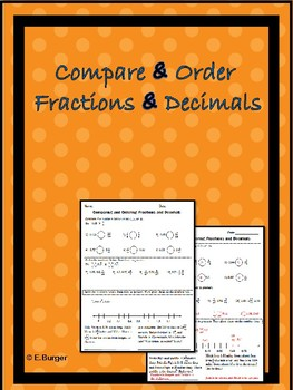 Compare and Order Fractions and Decimals