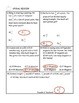 Comparing and Ordering Integers Word Problem Practice PLUS Spiral Review