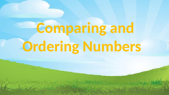 Compare and Order Larger Numbers