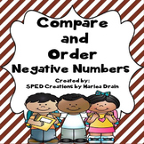 Compare and Order Negative Numbers