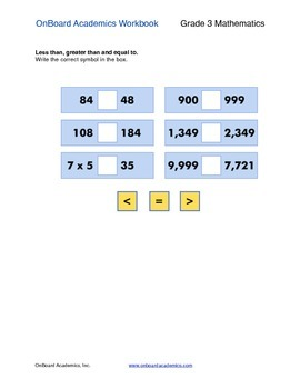 Compare and Order Numbers 2