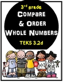 Compare and Order Numbers 3rd grade