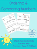 Compare and Order Numbers (Common Core 1.NBT.A1)