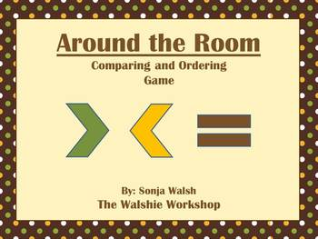 Compare and Order Numbers Game - Grade 3 (The Walshie Workshop)
