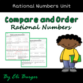 Compare and Order Rational Numbers