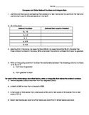 Compare and Order Rational Numbers Assessment