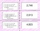 Compare and Order TEKS 3.2D What's My Number Cards