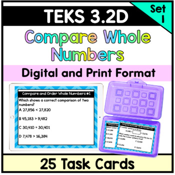Compare and Order Whole Numbers- TEKS 3.2(D)