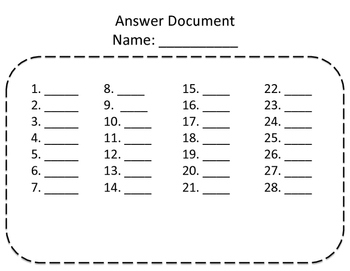 Compare and Order Whole Numbers Task Cards with Exit Ticket