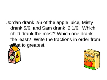 Compare and Ordering Fractions PPT