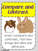 Compare and contrast minilesson pack