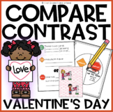 Compare and contrast pictures | Valentine's Day game