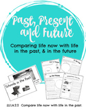 Compare life now with life in the past - Past, Present and Future