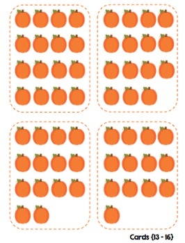 Compare the Cards {PUMPKINS}