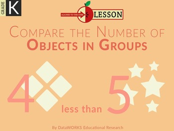 Compare the Number of Objects in Groups