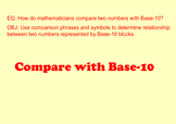 Compare with Base-10 Blocks (2-Digit Numbers) SMARTNotebook Lesson
