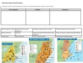 Compare&Contrast 13 Colonies (New England, Southern, & Middle) Pamphlet Project