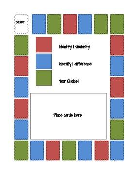 Compare/Contrast Board game!