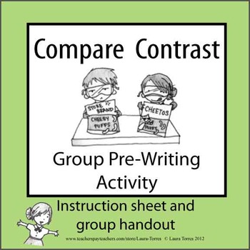 Compare/Contrast Group Pre-writing Exercise
