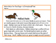 Make Way For Ducklings/Informational Text Literacy Activities