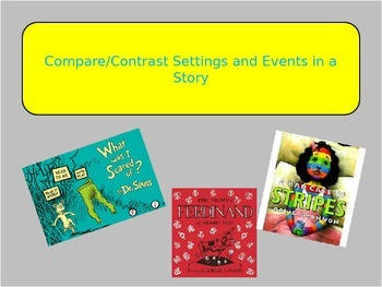 Compare/Contrast Settings and Events in a Story