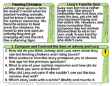 Compare and Contrast Task Cards and Test