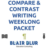 Compare/Contrast Writing: A comprehensive, week-long packet!