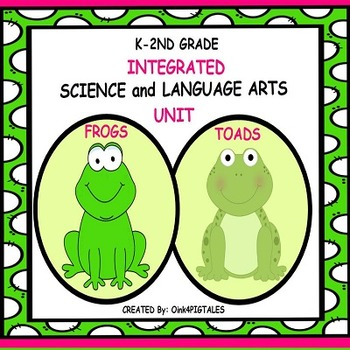 ALL ABOUT FROGS INTEGRATED ELA and SCIENCE UNIT
